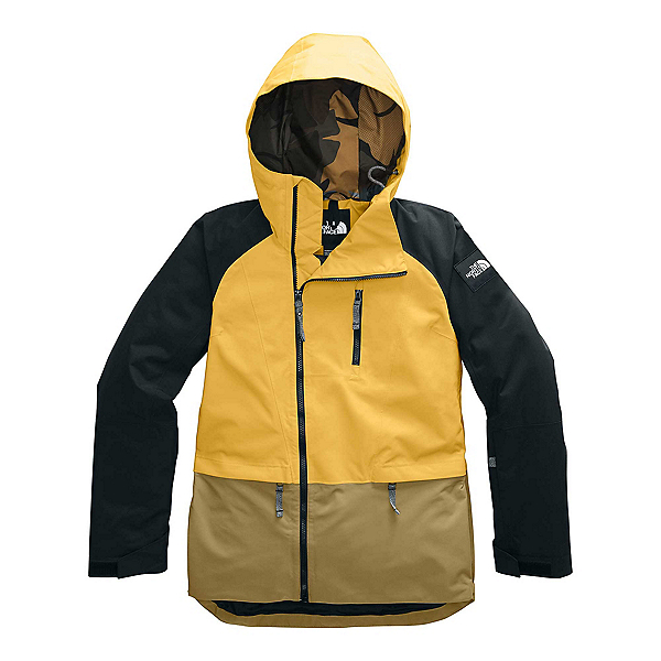 The North Face Superlu Womens Insulated Ski Jacket, Golden Spice-TNF Black-British, 600
