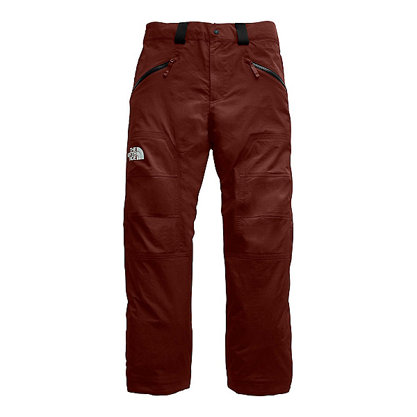 The North Face Straight Six Mens Ski Pants, Sequoia Red, 600