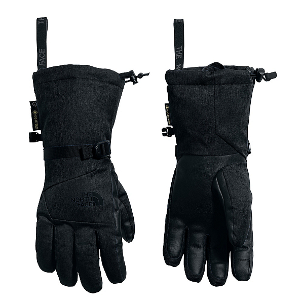 The North Face Montana ETIP GTX Womens Gloves (Previous Season) 2020, TNF Black Heather, 600