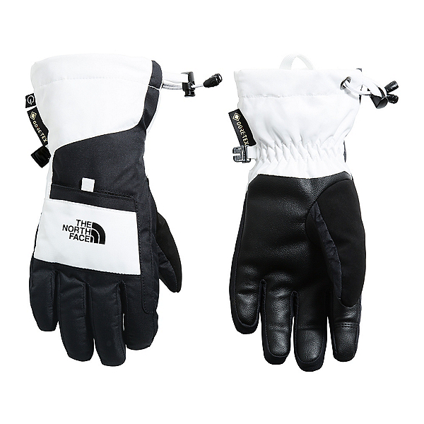 The North Face Montana ETIP GTX Girls Gloves, TNF White, 600