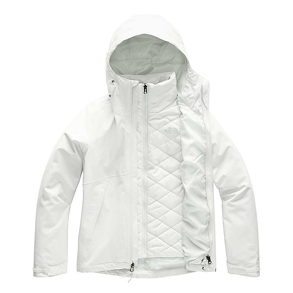 The North Face Carto Triclimate Womens Jacket, Tin Grey, 600