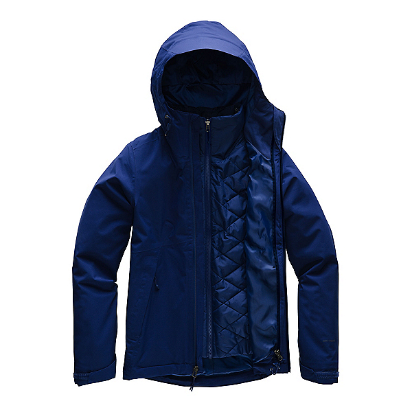 The North Face Carto Triclimate Womens Jacket, Flag Blue, 600