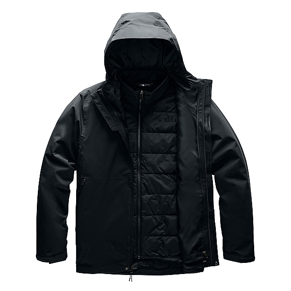 The North Face Carto Triclimate Mens Jacket (Previous Season) 2020, TNF Black-TNF Black, 600