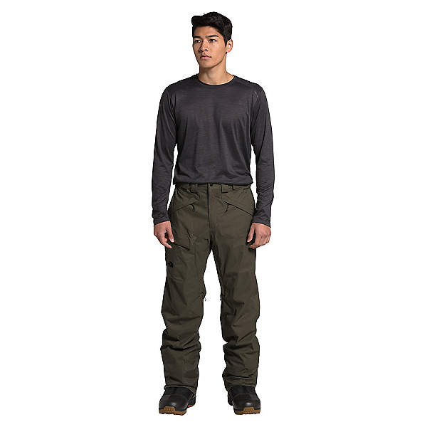 The North Face Freedom - Short Mens Ski Pants, New Taupe Green, 600