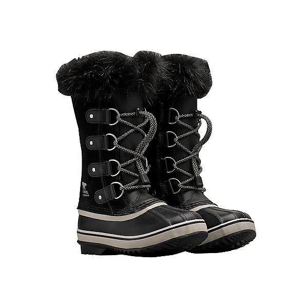 Sorel Joan of Arctic Girls Boots, Black-Dove, 600