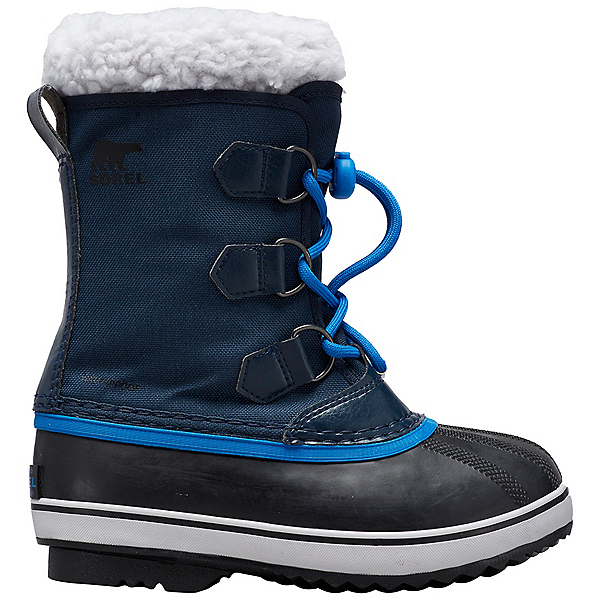 Sorel Yoot Pac Nylon Kids Boots, Collegiate Navy-Super Blue, 600