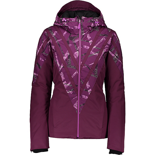 Obermeyer Trine Womens Insulated Ski Jacket 2020, Transcend Print, 600