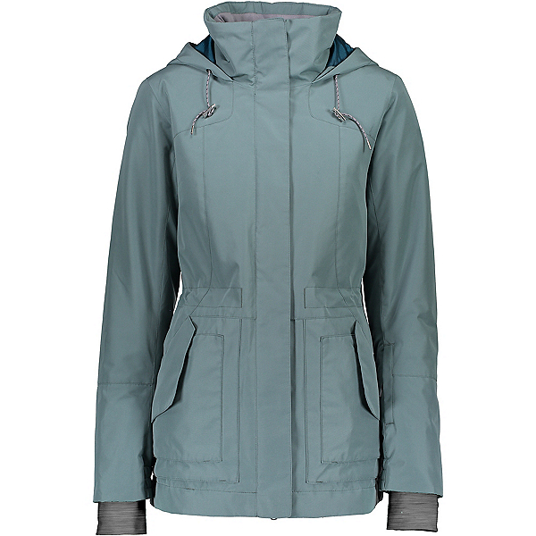 Obermeyer Liberta Womens Insulated Ski Jacket 2020, Sage, 600