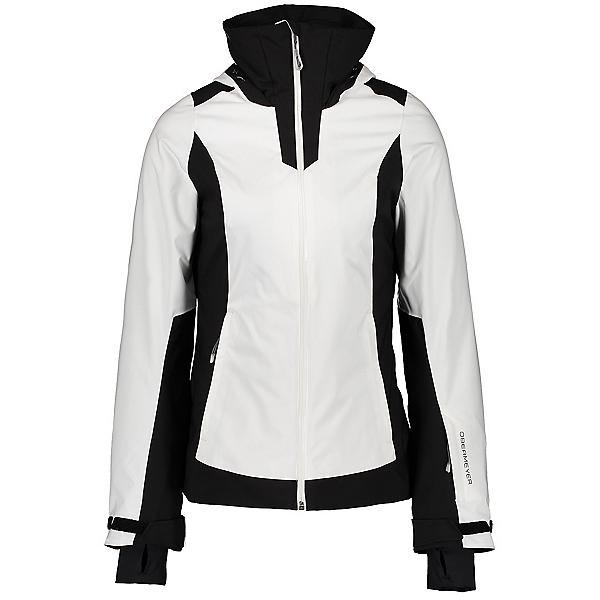 Obermeyer Snowdiac Womens Shell Ski Jacket, White, 600