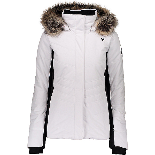 Obermeyer Tuscany II Womens Insulated Ski Jacket 2020, White, 600