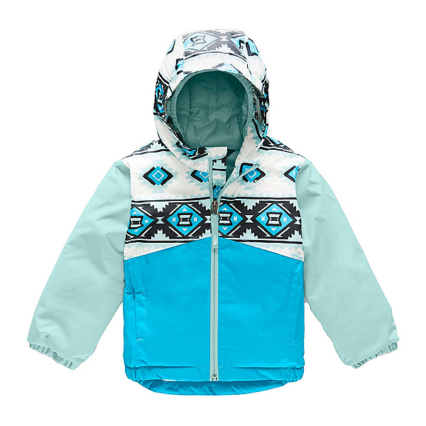 The North Face Snowquest Toddler Girls Ski Jacket (Previous Season) 2020, , 600