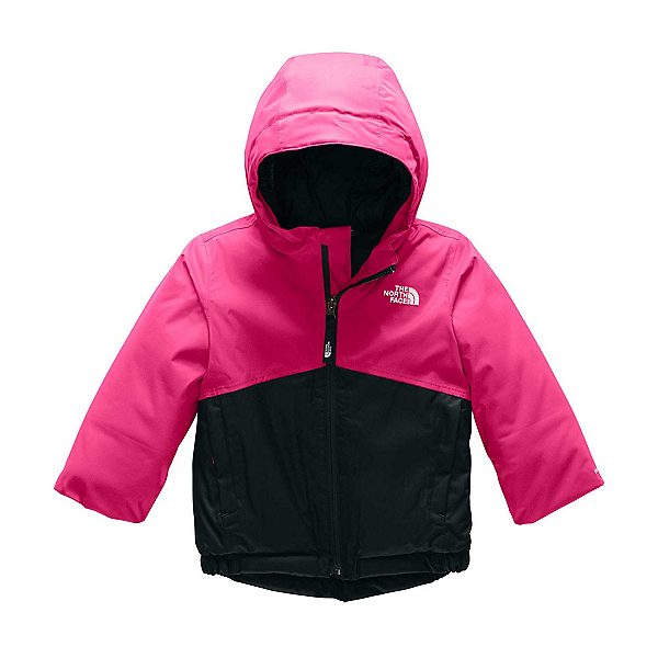 The North Face Snowquest Toddler Girls Ski Jacket, Mr. Pink, 600