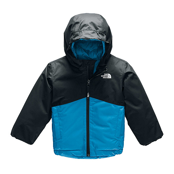 The North Face Snowquest Insulated Toddler Ski Jacket, Acoustic Blue, 600