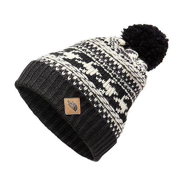 The North Face Fair Isle Hat, Weathered Black-Vintage White, 600
