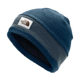 factory price fcf28 04f57 ... colorswatch30 The North Face TNF Logo Stripe Hat, Blue Wing Teal-Urban  Navy, 256 ...