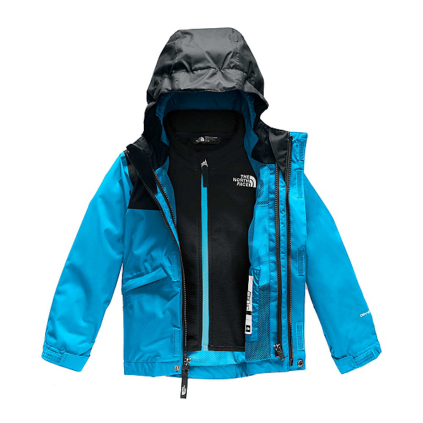 The North Face Snowquest Triclimate Toddler Ski Jacket, Acoustic Blue, 600