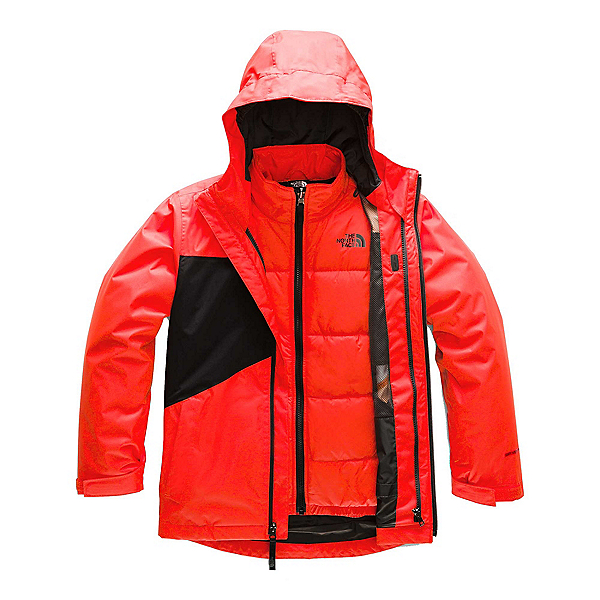 The North Face Clement Triclimate Boys Ski Jacket (Previous Season) 2020, , 600