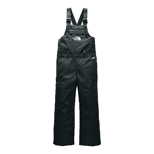 The North Face Freedom Insulated Bib Kids Ski Pants, TNF Black, 600