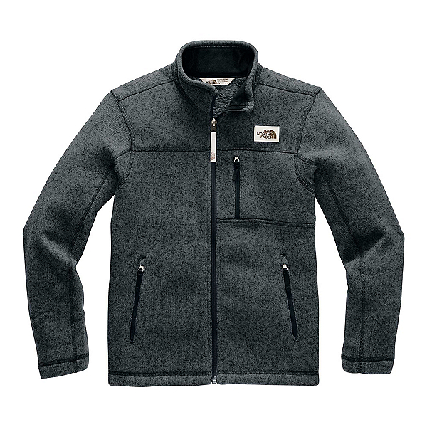 The North Face Gordon Lyons Full Zip Boys Jacket (Previous Season) 2020, TNF Black Heather, 600
