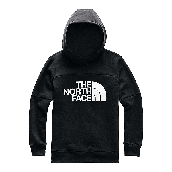 The North Face Metro Logo Pullover Kids Hoodie, TNF Black, 600