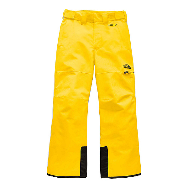 The North Face Fresh Tracks Kids Ski Pants, Vibrant Yellow, 600