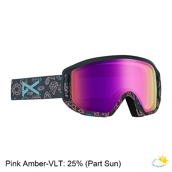 Anon Relapse Jr. MFI Kids Goggles 2020, Bling-Pink Amber, 600