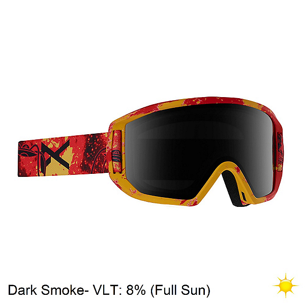 Anon Relapse Jr. MFI Kids Goggles 2020, Tinfoil Hat Red-Dark Smoke, 600