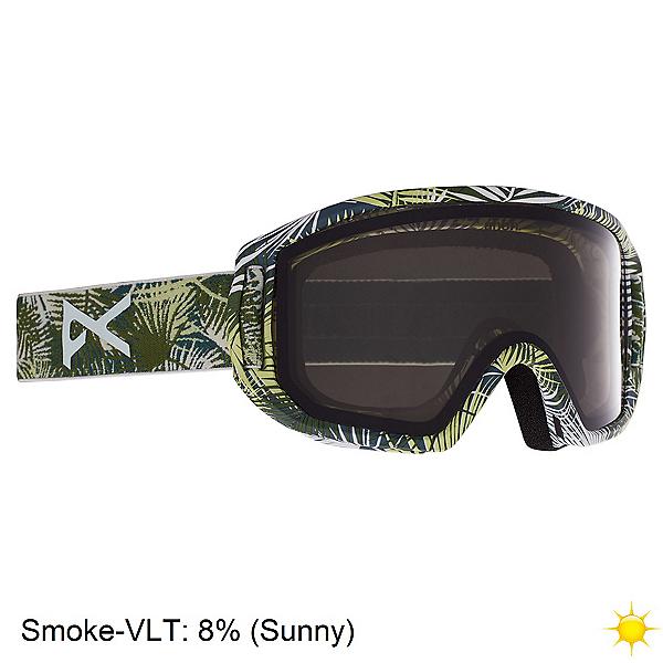 Anon Relapse Jr. MFI Kids Goggles, Camo Green-Smoke, 600