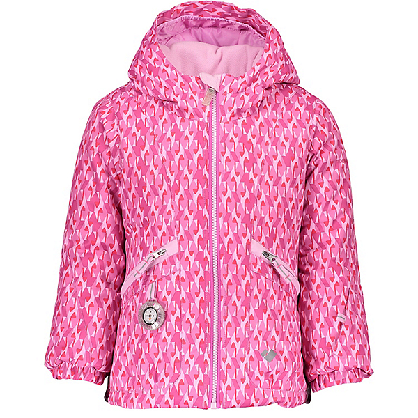 Obermeyer Glam Toddler Girls Ski Jacket, Pink & Pinker, 600