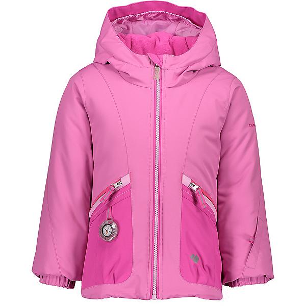 Obermeyer Glam Toddler Girls Ski Jacket, Pinky Promise, 600