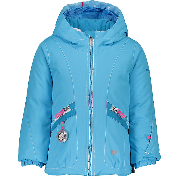 Obermeyer Glam Toddler Girls Ski Jacket, Unicorn Sky, 600