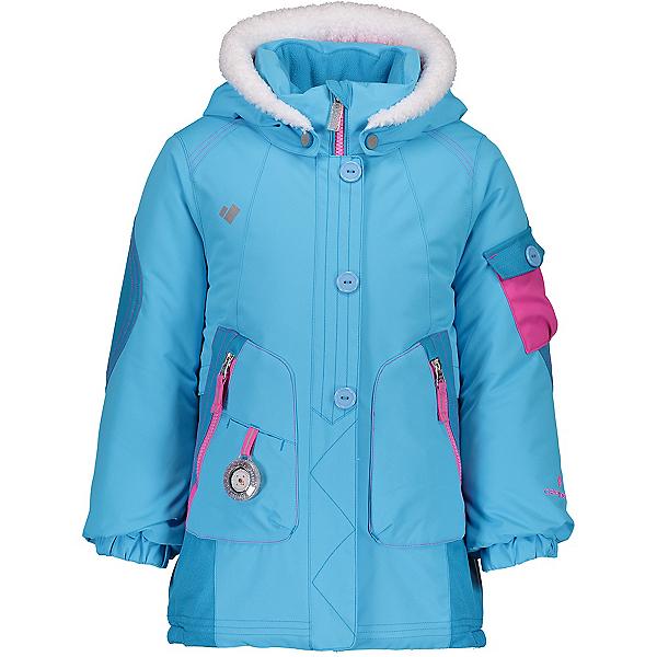 Obermeyer Pop Star Toddler Girls Ski Jacket, Unicorn Sky, 600