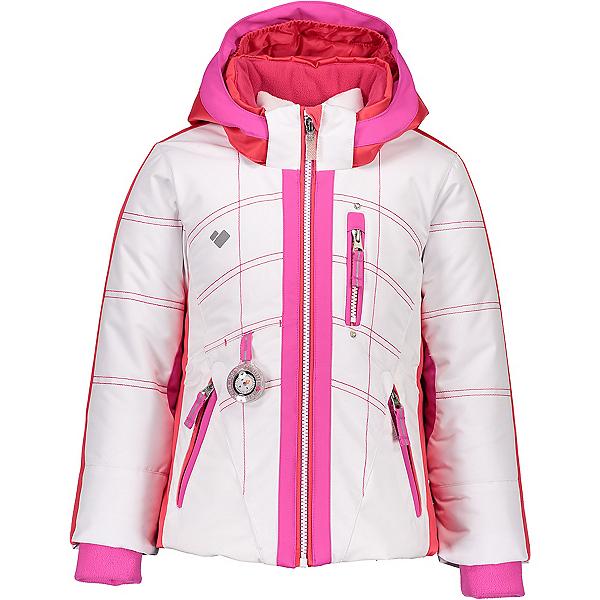 Obermeyer Hey Sunshine Toddler Girls Ski Jacket 2020, White, 600