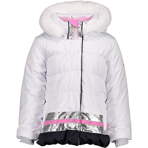 Obermeyer Bunny Toddler Girls Ski Jacket, White, 600