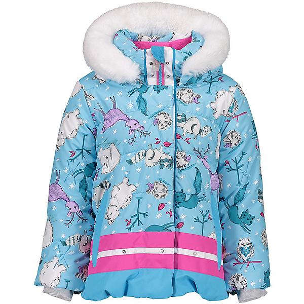 Obermeyer Bunny Toddler Girls Ski Jacket, Wild Winter, 600