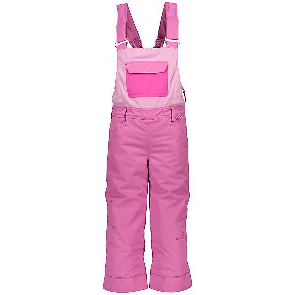Obermeyer Disco Bib Toddler Girls Ski Pants, Pinky Promise, 600