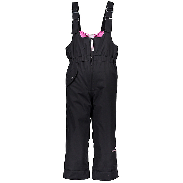Obermeyer Snoverall Toddler Girls Ski Pants 2020, Black, 600
