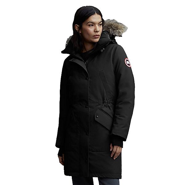 Canada Goose Ellesmere Parka Womens Jacket, Black, 600