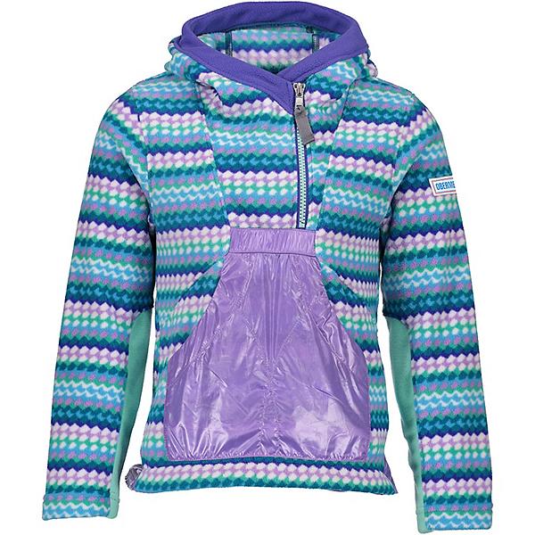 Obermeyer Aiya Fleece Pullover Kids Hoodie, , 600
