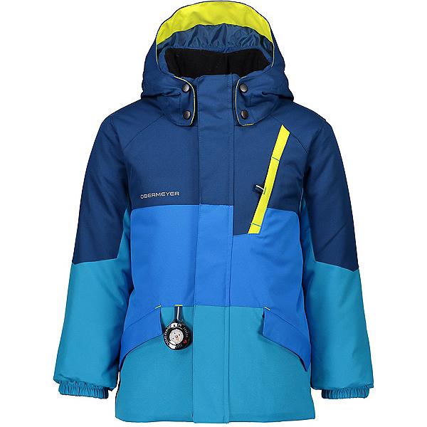 Obermeyer M-Way Toddler Ski Jacket, Blue Vibes, 600