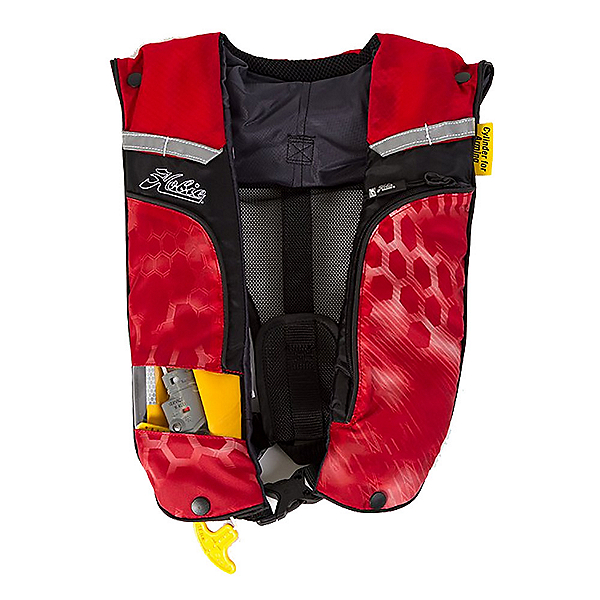 Hobie PFD Inflatable Life Vest, Red, 600