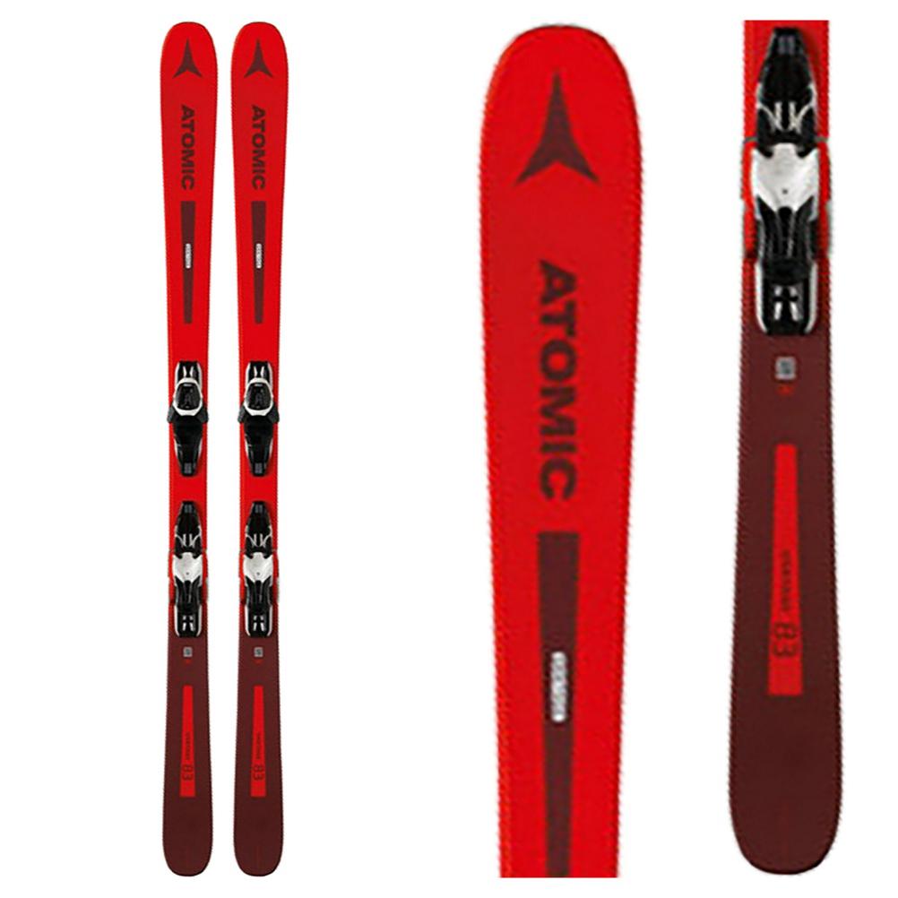 Atomic Vantage 83 R Skis with Lithium 10 Bindings im test