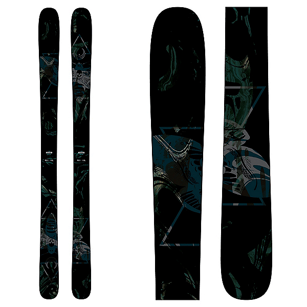 Rossignol Black Ops 98 Womens Skis, , 600