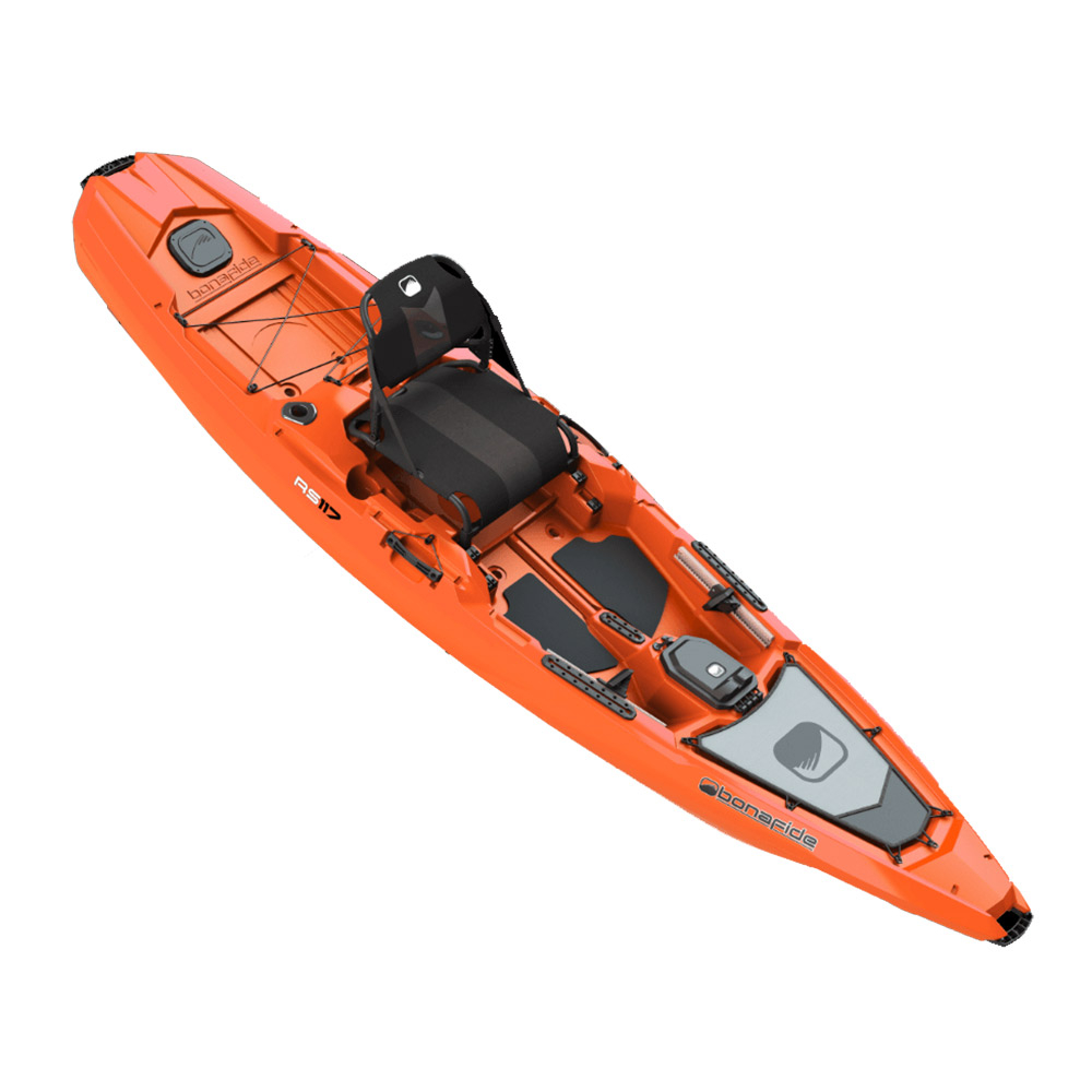 Bonafide Kayaks RS117 Sit On Top Kayak im test