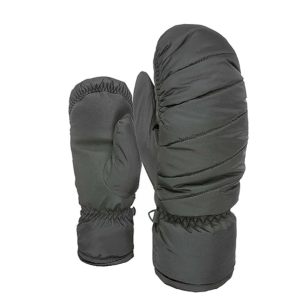 Level Bliss Cozy Down Womens Mittens, Black, 600