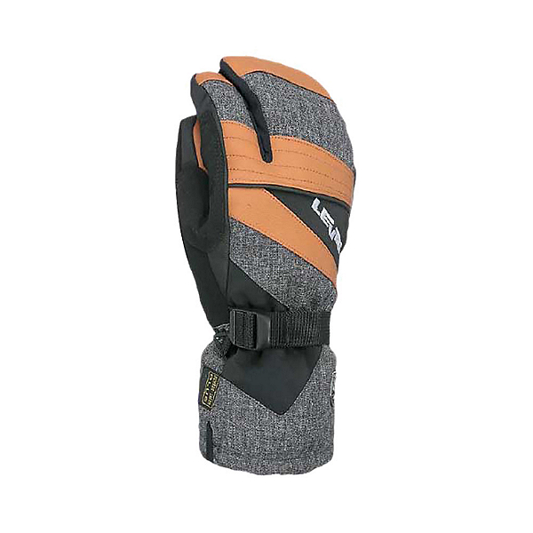 Level Patrol Trigger Mittens, Pk Brown, 600