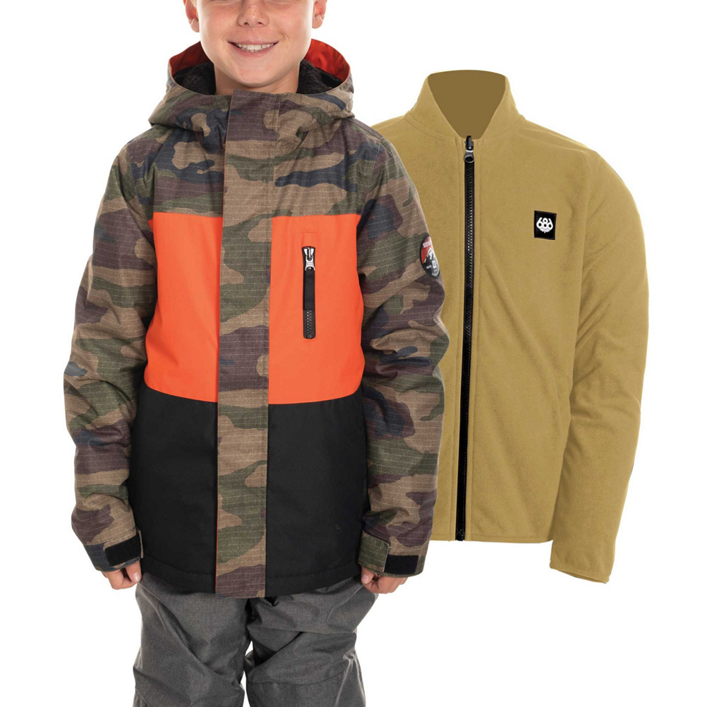686 SMARTY 3-in-1 Boys Snowboard Jacket thumbnail