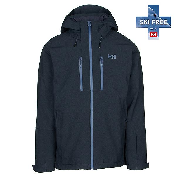Helly Hansen Juniper 3.0 Mens Insulated Ski Jacket, Navy, 600