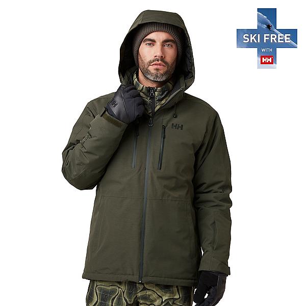 Helly Hansen Juniper 3.0 Mens Insulated Ski Jacket, Beluga, 600