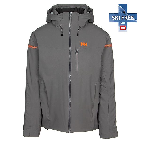 Helly Hansen Swift 4.0 Mens Insulated Ski Jacket, Quiet Shade, 600